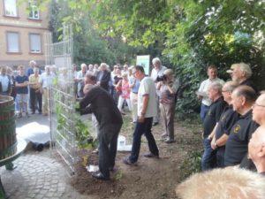 Einweihung der Weinkeltern Mainz-Laubenheim am 12. Juni 2015